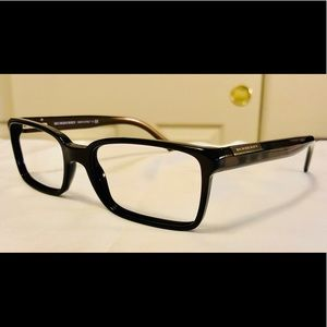 EUC Unisex Burberry Chocolate Brown RX Frame 2086